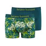 bruno banani short herren unterhose LEAVY lindgrün avocado lorbeer 2 Pack