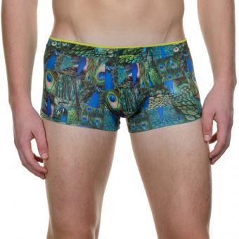 bruno banani herren unterhose hip short pant hipster pfau ANIMAL SHOW