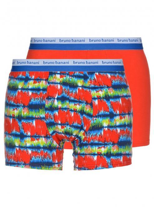 bruno banani unterhose herren boxer short pant rot blau grün CRAVING 2 Pack