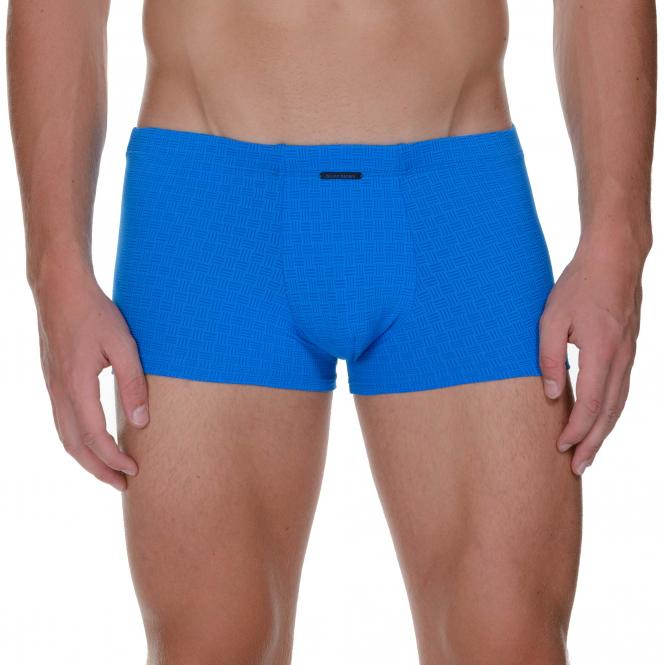 bruno banani herren unterhose hip short pant hipster trunk blau ALERT