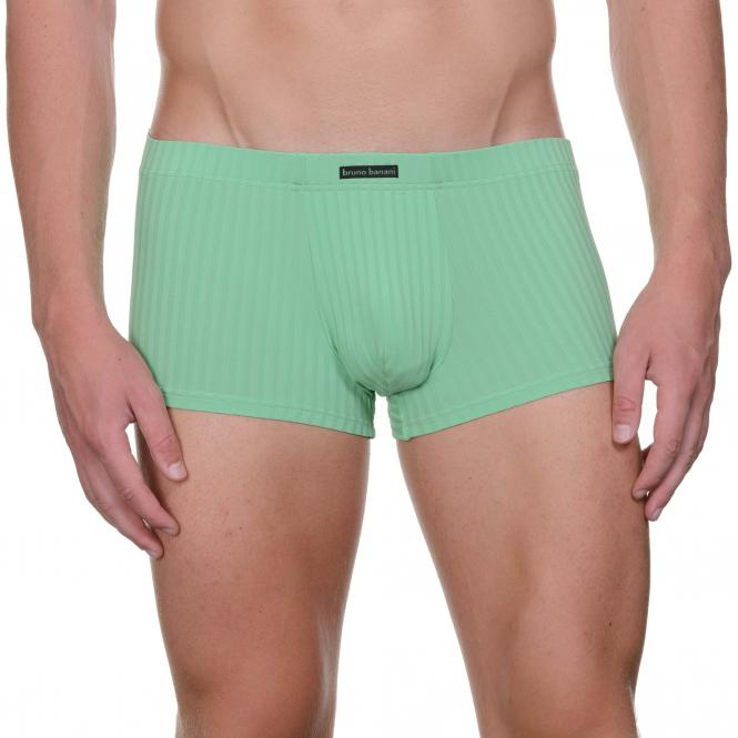 bruno banani herren unterhose hip short pant hipster hellgrün ANTI-STRESS