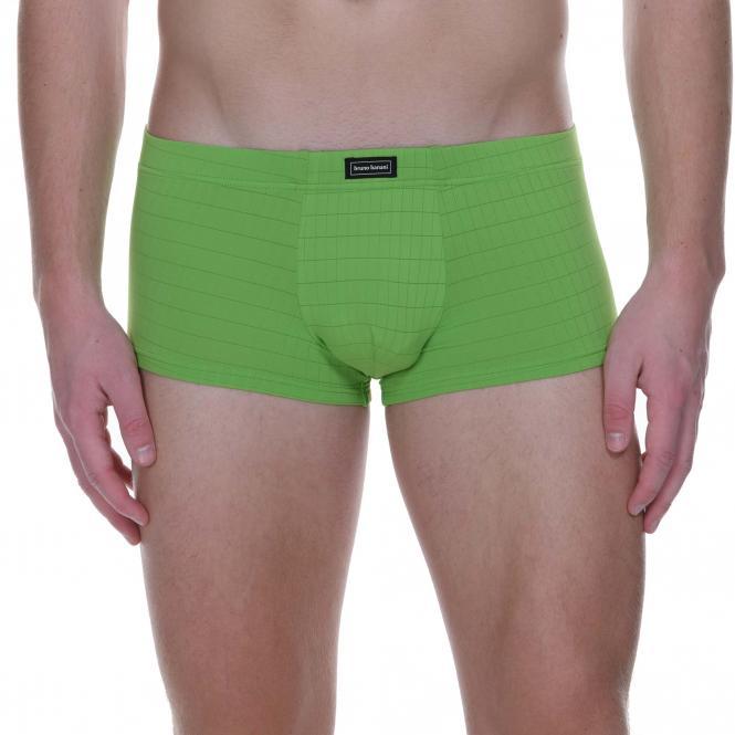 bruno banani hipshort hip short hipster herren unterhose kiwi CHECK LINE