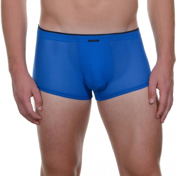 bruno banani herren unterhose hip short pant hipster trunk blau CUBA LIBRE