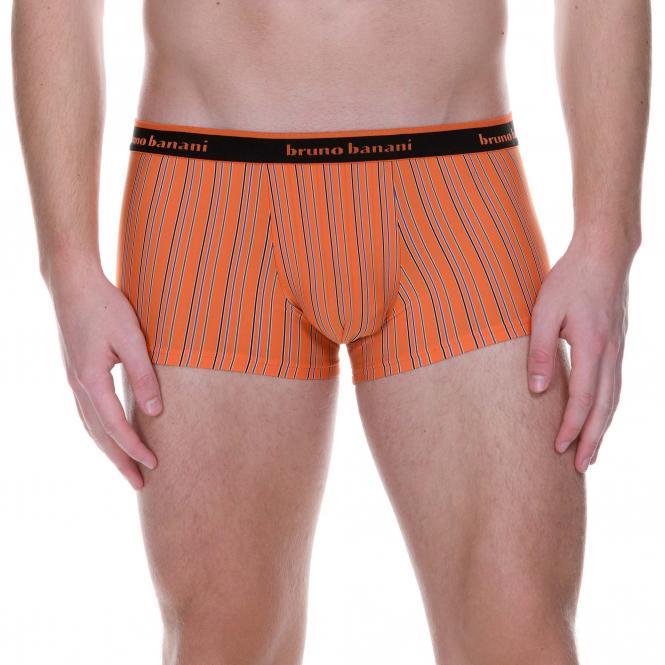 bruno banani herren unterhose hip short pant hipster trunk orange ELECTRIC CABLE