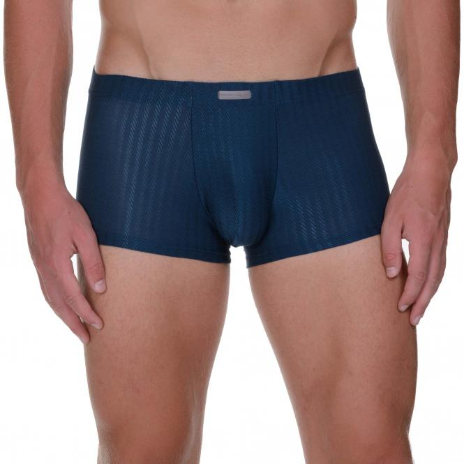 bruno banani herren unterhose hip short pant hipster petrolblau GALAXY