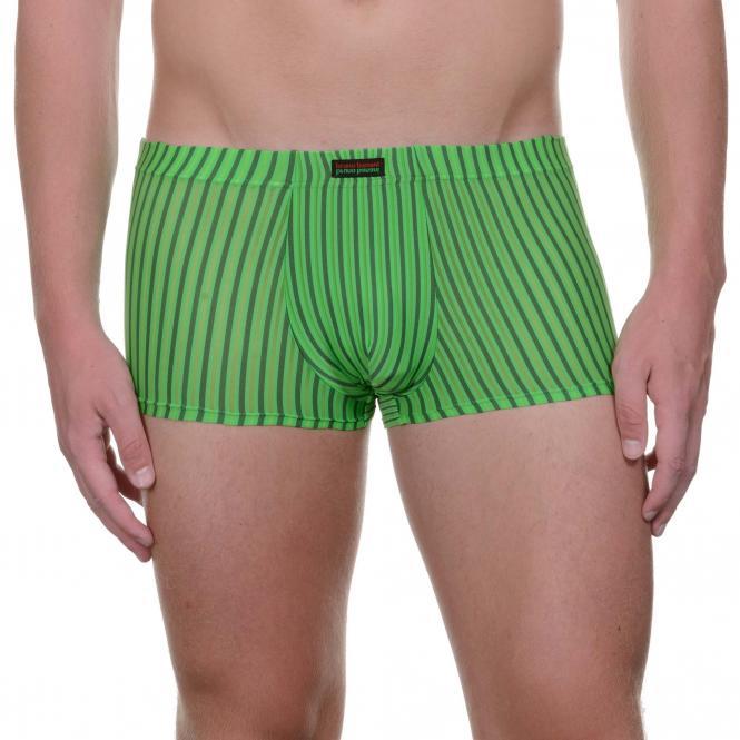 bruno banani herren unterhose hip short pant hipster grün RUMBA