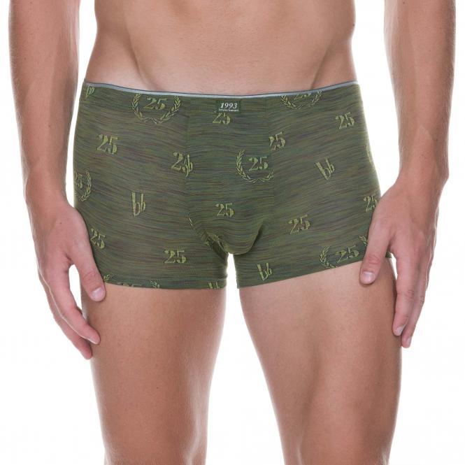 bruno banani herren unterhose hip short pant hipster trunk oliv TWENTY FIVE