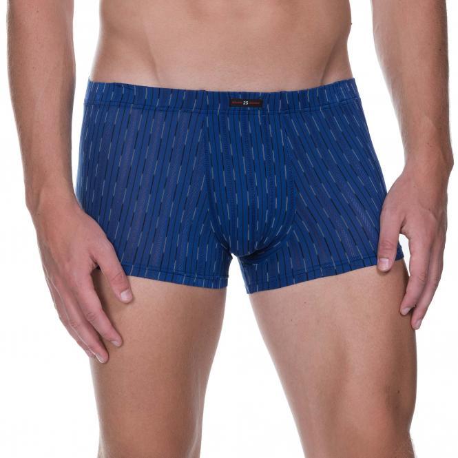 bruno banani herren unterhose hip short pant hipster trunk blau TYPOGRAPHY