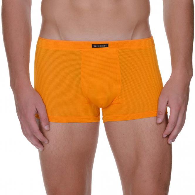 bruno banani herren unterhose boxer short pant trunk orange  LAVA
