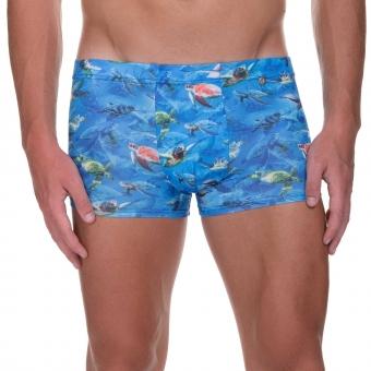 bruno banani hipshort hip short hipster herren unterhose turtle print DIVE