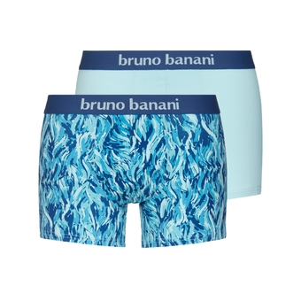 bruno banani short herren unterhose blau aqua SCRATCH 2 Pack