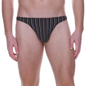 bruno banani string herren unterhose anthrazit ELECTRIC CABLE